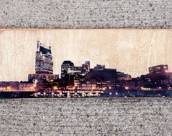 Hometown Pride - Phototransfers on Wood