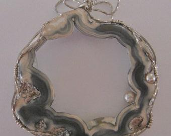 Petrified Coral Pendant