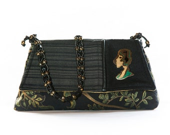 Bird Woman - Hand Made Purse from Purses By Pochette