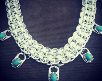 Handmade Upcycled Pop Tab Necklace