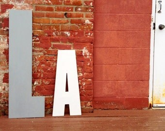 Oversized Wall Letter - 48 Inch