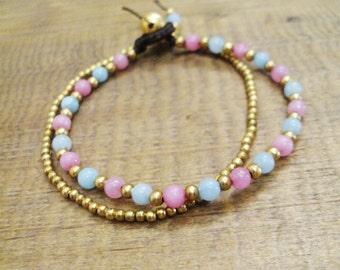 4mm Aventurine,Amazonite bracelets,Beaded bracelets,Beadwork bracelets