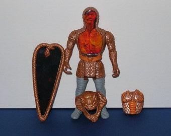 Vintage 1987 Tonka Super Naturals Snakebite Figure (Complete)