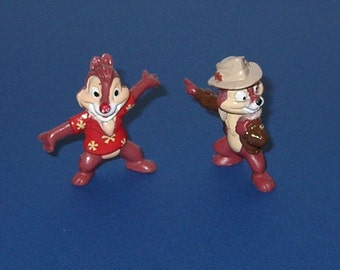 1991 Disney Afternoon Chip ands Dale Resue Rangers PVC figure from Kelloggs