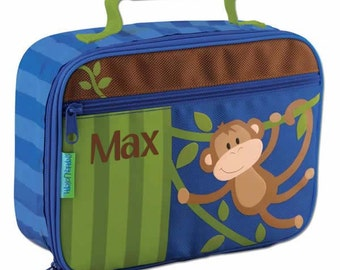 Personalised Children's Lunch Boxes - Monkey