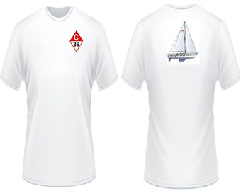 Catalina 36 Sailboat T-Shirt
