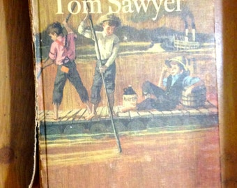 1963 Tom Sawyer and Huckleberry Finn in One Book