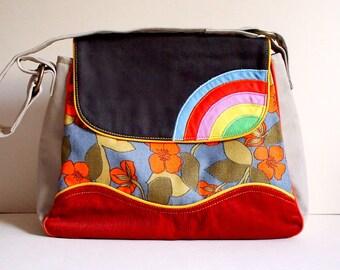 Handbag - Over The Rainbow Bag (Vintage Persimmon)