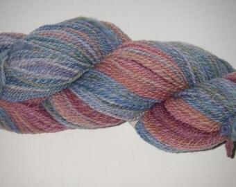 Handspun Gradient Merino Wool Yarn 276 yds