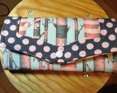 Birch Trees Necessary Clutch Wallet Tula Pink