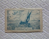 Vintage French Paper Stationary - En Mer