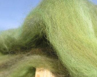 Spinning Fiber - Batt - Winter Grass