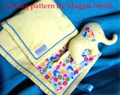 Blankie & Elephant for Babies and Toddlers PDF sewing pattern