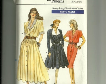 Vogue  Misses' / Half-Size Dress Pattern 7123