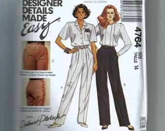 McCall's Misses' Pants Pattern 4764