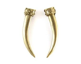Birdhouse Jewelry - Tusk Earrings
