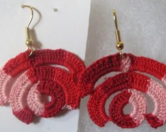oya rose earrings