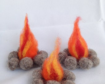 Wool Campfire for Playscape