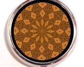 Geometic Kaleidoscope Art Pill Box Case Pillbox Festival Hippie Sacred Geometry Spiritual