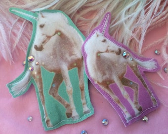 Magical Unicorns Badge Set