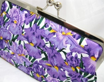 Coupon Organizer Purse Orchid Party