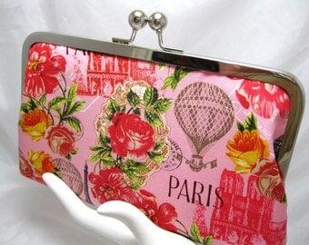 Coupon Organizer, Coupon Holder, Coupon Divider, Cash Envelope System, Coupon Purse, Expense Organizer, Receipt Holder, Pink Paris Rose