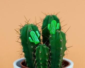 Cactus earrings - cacti earrings - laser cut earrings - cactus studs - cactus studs - cactus jewellery - cacti jewelry - plant earrings