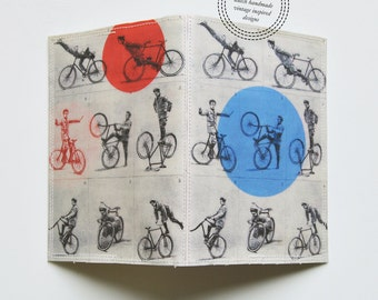 Passport Cover - vintage cycling tricks