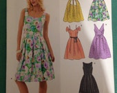 Newlook dress sewing pattern - 6805 - Size US 8-18 - Brand new & uncut