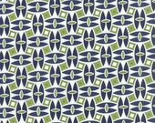 SALE - Daysail - Catamaran in Navy Blue: sku 55101-14 cotton quilting fabric by Bonnie and Camille for Moda Fabrics - 1 yard