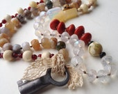 Hand Knotted Necklace--Bountiful