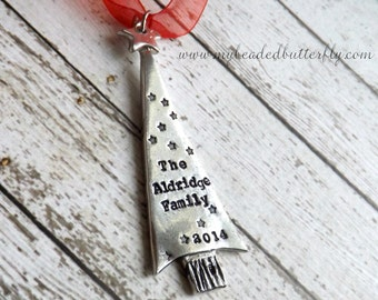 Christmas ornament-personalized ornament-Christmas-2014-christmas tree
