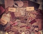 Ephemera Pack, Expedition, Vintage Style Ephemera Pack
