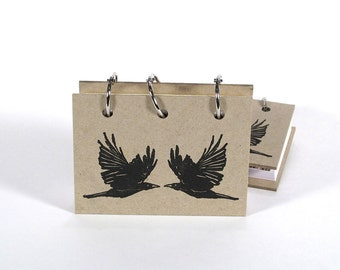 Card File Address Book (Black Birds)
