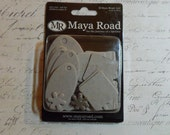 Maya Road: Mixed Shapes - Mini Chipboard - 30 Piece Set