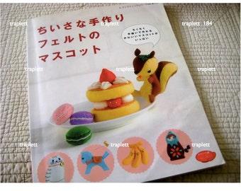 Japanese Pattern Book Felt Toys Desserts Kawaii Characters
