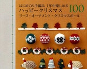 Happy CROCHET Christmas and Winter 100 - Japanese Craft Book