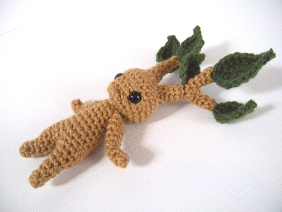 Amigurumi Mandrake : Mandrake Amigurumi Mandrake Crochet Root Harry by ...