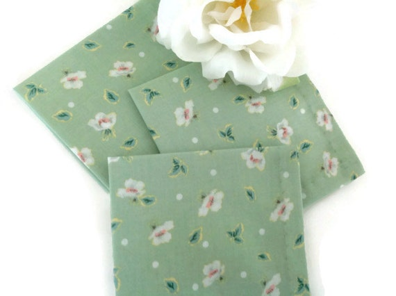 Eco Friendly Cloth Cocktail Napkins, Fabric Cocktail Appetizer Beverage Napkins Party Napkins - set of 6