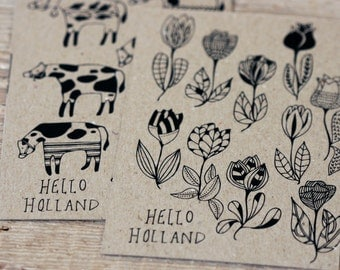Hello Holland - Postcard Set