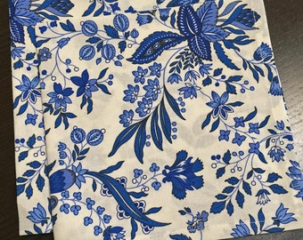Blue and White Napkins, French Country Napkins