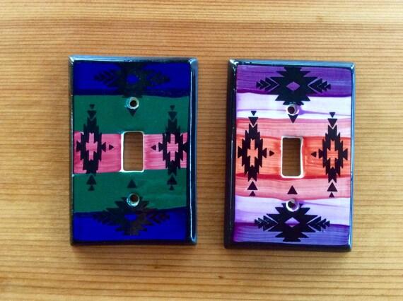 switchplate covers vintage ceramic light by northernscoutvintage. Black Bedroom Furniture Sets. Home Design Ideas