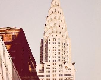 Chrysler  - New York City art Print, New York Landscape Photography by Leigh Viner