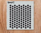 """Dots Pattern Stencil- Reusable Craft & DIY Stencils- S1_PAS_24s -Small-(5.75""""x6"""")- By Stencil1"""