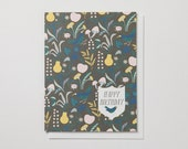 Meadow Happy Birthday Note Card