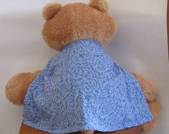 Child Cape or Apron:  Blue Leopard by Fashion Green T Bags