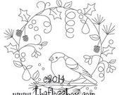 Seasonal Mandalas Embroidery Pattern Pack