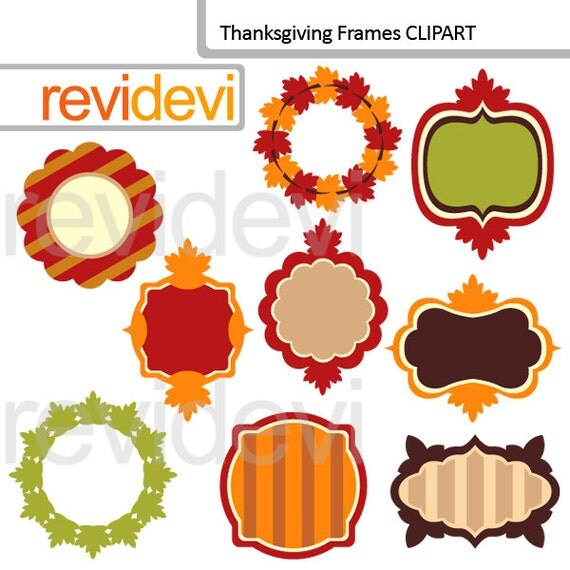 thanksgiving clip art frames - photo #26