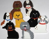 Puppy Dog Push Pin Assortment for Bulletin Board