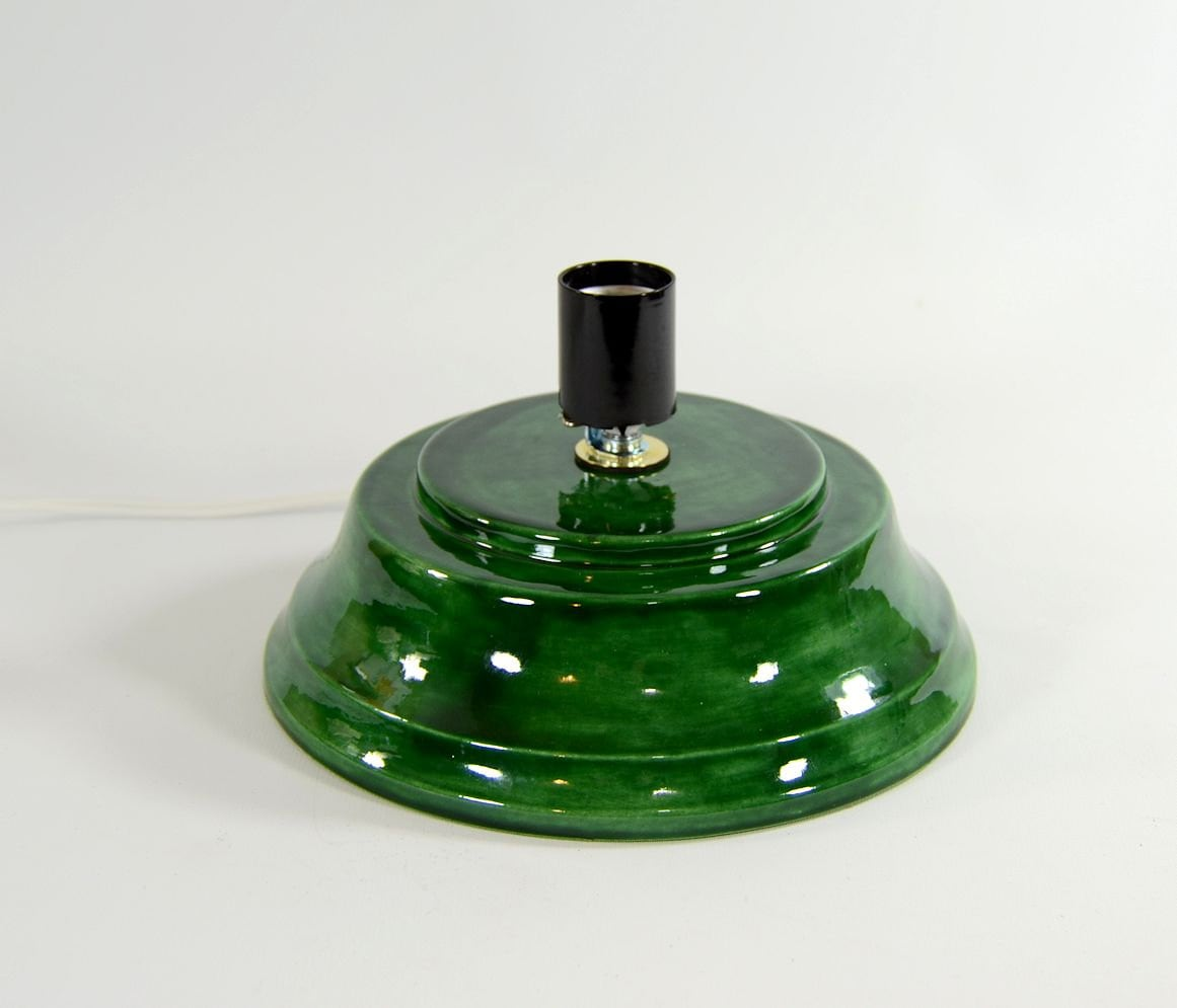 Replacement Ceramic Christmas Tree Base Concave Plain